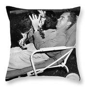 Richard Nixon (1913-1994) Throw Pillow