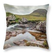 Russell Burn - Scotland Throw Pillow