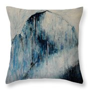 Sacred Mountains Throw Pillow