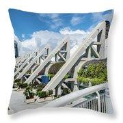 San Diego Convention Center  Throw Pillow