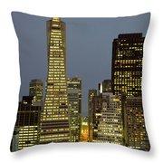 San Francisco Ca Throw Pillow
