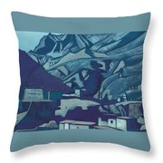 Sanctuaries And Citadels Throw Pillow