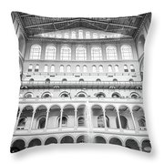 Smithsonian National Building Mus Throw Pillow