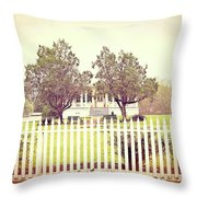 Somewhere In Time Throw Pillow