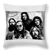 Steely Dan Collection Throw Pillow
