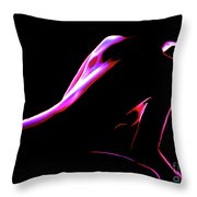 4 Strokes Throw Pillow