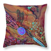 Sukkot-the Lulav Throw Pillow