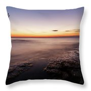 Sunset At Basanija Throw Pillow