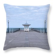 Swanage - England Throw Pillow