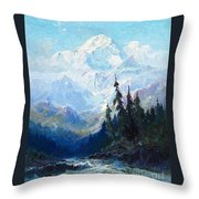 Sydney Laurence Throw Pillow