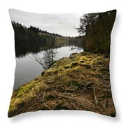 Tarn Hows Throw Pillow