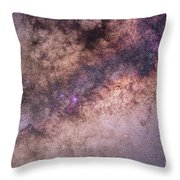 The Center Of The Milky Way Throw Pillow