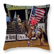 The Colors Throw Pillow