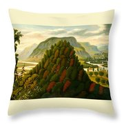The Connecticut Valley Throw Pillow