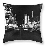 The Las Vegas Strip Throw Pillow