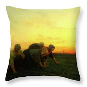 The Weeders Throw Pillow