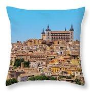 Toledo, Spain Throw Pillow