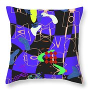 4 U 351 Throw Pillow