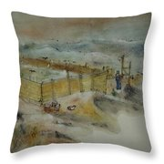 Van Gogh In Chinese Style Album Throw Pillow