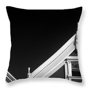 Victorian Style Homes  Throw Pillow