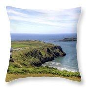 Wales Uk Throw Pillow