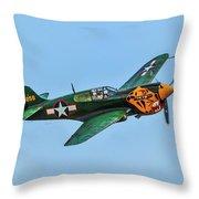 Warhawk Throw Pillow