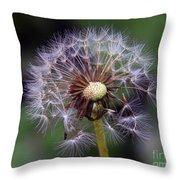 Weed Seeds Throw Pillow