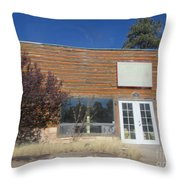 Western Storefront Throw Pillow