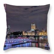 Westminster - London Throw Pillow