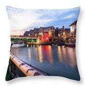 Weymouth - England Throw Pillow