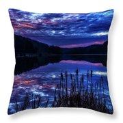 Winter Dawn Throw Pillow