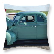 40 Ford Deluxe Throw Pillow