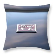 '40 Ford V8 Throw Pillow