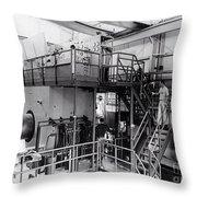 40 Inch Liquid Hydrogen Bubble Chamber Throw Pillow