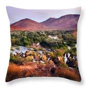Landscape D Cc Throw Pillow