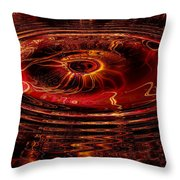 40 Lashes Throw Pillow