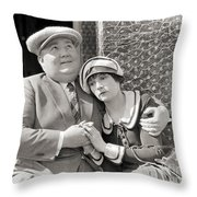 Silent Film Still: Couples Throw Pillow