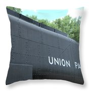 4004 Water Car Throw Pillow