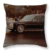 40th In Valley Stream New York Throw Pillow