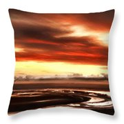 Country Landscapes Throw Pillow