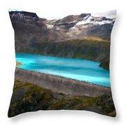 Landscape Picture Throw Pillow