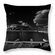 41 South And The Longbridge Throw Pillow