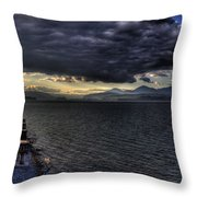 41 South Sandpoint Throw Pillow