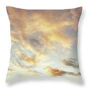 Summer Sky 1 Throw Pillow