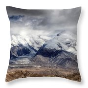 Xinjiang Province China Throw Pillow