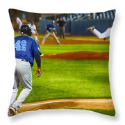 42 Coming Home Throw Pillow