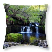 Paintings Of Landscapes Throw Pillow