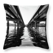 422 Bridge Throw Pillow