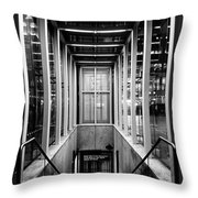42nd Street Bryant Park Fifth Avenue Throw Pillow