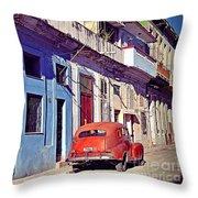 Havana Cuba Throw Pillow